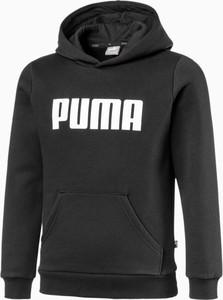Czarna bluza dziecięca Puma