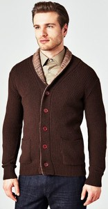Czerwony sweter Guess by Marciano w stylu casual