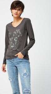 Brązowa bluzka Moodo