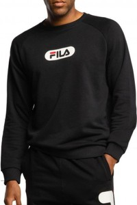 Czarna bluza Fila z bawełny w młodzieżowym stylu