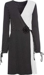 Sukienka bonprix BODYFLIRT z długim rękawem midi