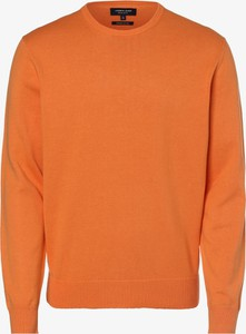 Pomarańczowy sweter Andrew James z bawełny