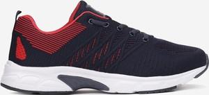 Granatowe buty sportowe born2be sznurowane