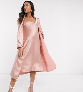 Różowa sukienka Queen Bee