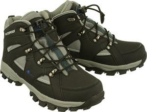Brązowe buty trekkingowe dziecięce Vemont