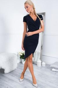 Sukienka Fasardi z krótkim rękawem