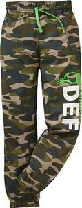Zielone spodnie dziecięce bonprix bpc bonprix collection