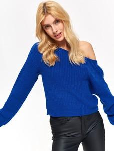 Niebieski sweter Troll