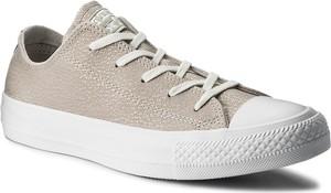Trampki converse - ctas ox 559884c pale putty/silver/white