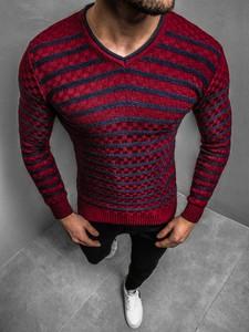 Sweter ozonee.pl z dzianiny w młodzieżowym stylu