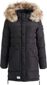 Czarny płaszcz khujo