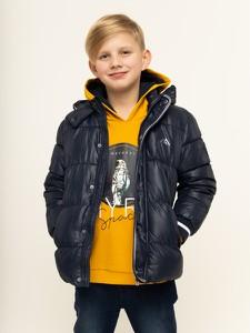 Granatowa kurtka dziecięca Mayoral dla chłopców