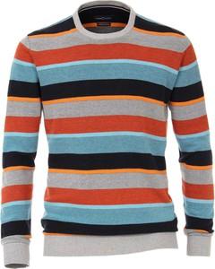 Sweter Casamoda z bawełny z okrągłym dekoltem
