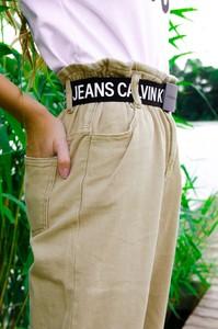 Jeansy Olika w stylu casual z jeansu