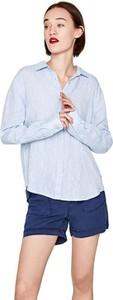 Koszula Pepe Jeans z kołnierzykiem z długim rękawem