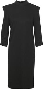 Sukienka Saint Tropez mini z długim rękawem z golfem