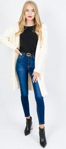 Granatowe jeansy Olika w stylu casual