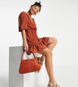 Czerwona sukienka Asos mini