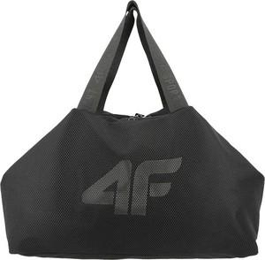 Czarna torba podróżna 4F