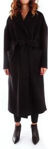 Czarny płaszcz Breras w stylu casual