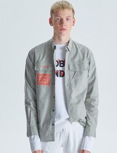 Koszula Cropp z długim rękawem z tkaniny