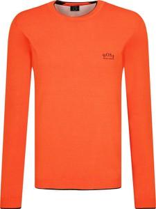 Pomarańczowy sweter Hugo Boss