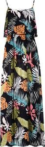 Sukienka Multu na ramiączkach maxi dla puszystych