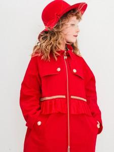 Czerwony płaszcz dziecięcy Anima By Justyna Steczkowska