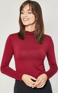 Bluzka Click Fashion w stylu casual z długim rękawem