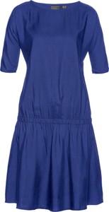 Granatowa sukienka bonprix bpc selection