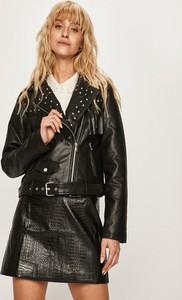 Czarna kurtka Glamorous w stylu boho krótka