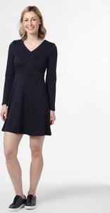Czarna sukienka Vila z dekoltem w kształcie litery v mini