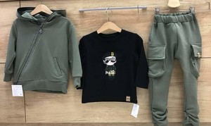 Zielone spodnie dziecięce MIMI