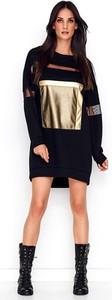 Czarna sukienka Numinou w stylu casual