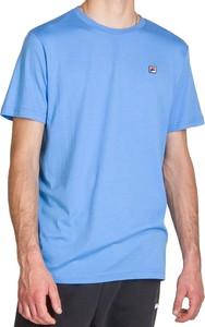 T-shirt Fila w sportowym stylu z dzianiny z krótkim rękawem