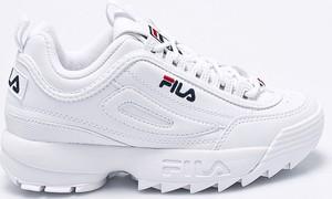 Białe produkty Fila, kolekcja wiosna 2020