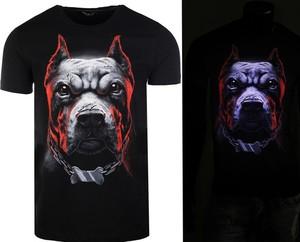 T-shirt Neidio z dresówki z nadrukiem
