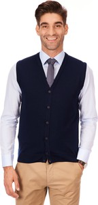 Granatowy sweter Lanieri Fashion