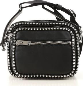6bc30f6a3539d torebka czarna ćwieki - stylowo i modnie z Allani