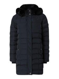 Granatowy płaszcz Wellensteyn w stylu casual