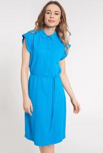 Sukienka QUIOSQUE w stylu casual szmizjerka mini