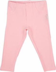 Różowe legginsy dziecięce Nicol
