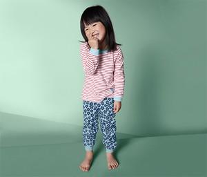f14390b2e80dcb Wielokolorowe piżamy dziecięce Tchibo, kolekcja wiosna 2019