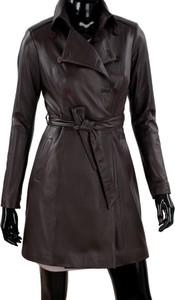 61acaff8f53cc płaszcze skórzane damskie ochnik - stylowo i modnie z Allani