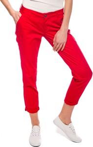 Czerwone spodnie Hilfiger Denim w stylu casual