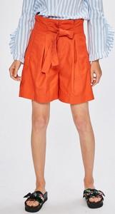 Pomarańczowe szorty Tommy Hilfiger