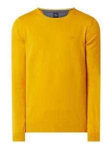 Żółty sweter S.Oliver Red Label w stylu casual