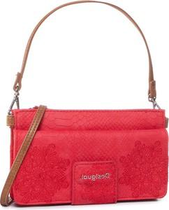 Czerwona torebka Desigual średnia