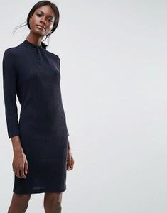 Niebieska sukienka Y.A.S dopasowana