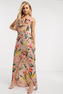Sukienka Girl In Mind maxi prosta